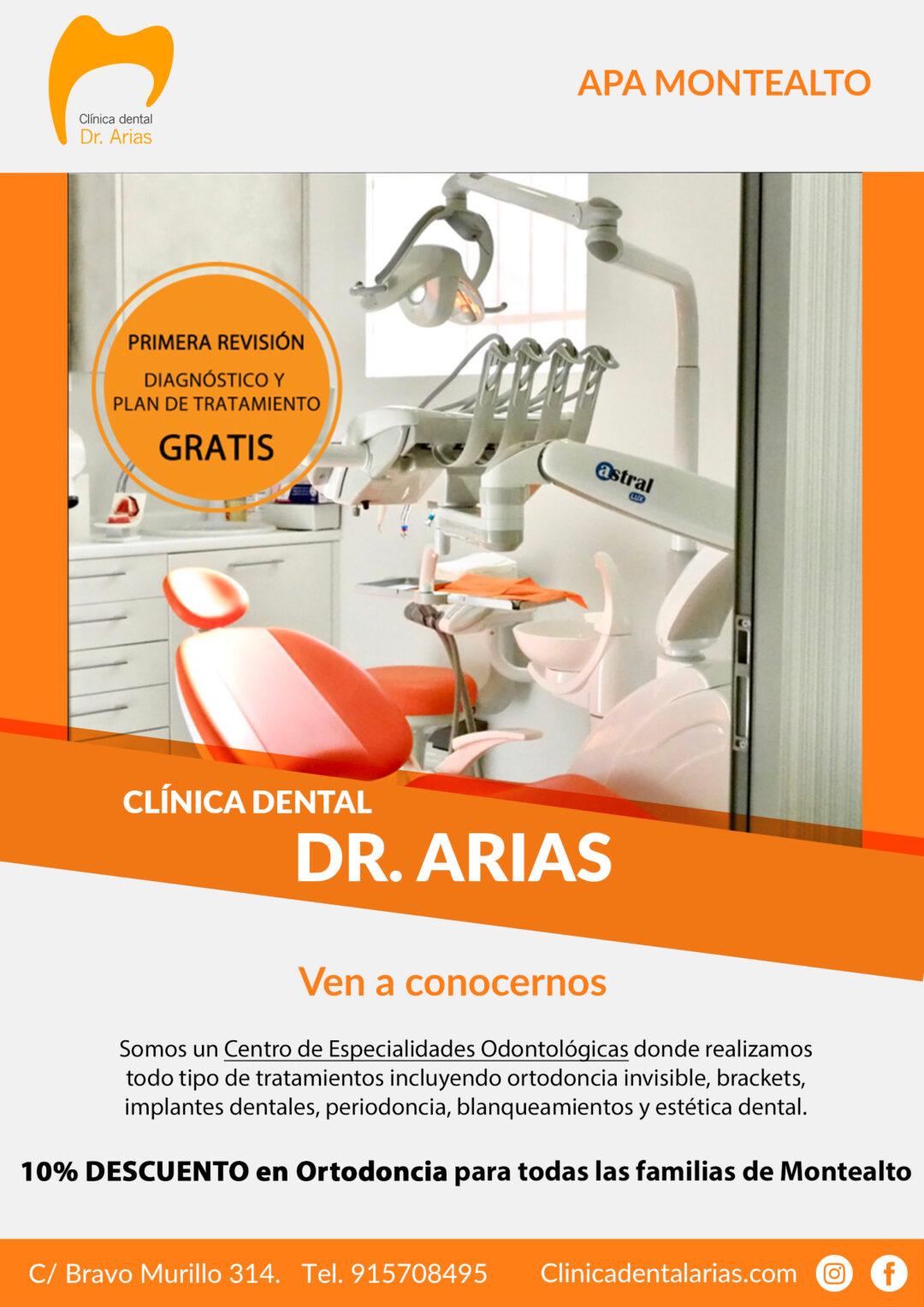 Clínica dental Dr. Arias