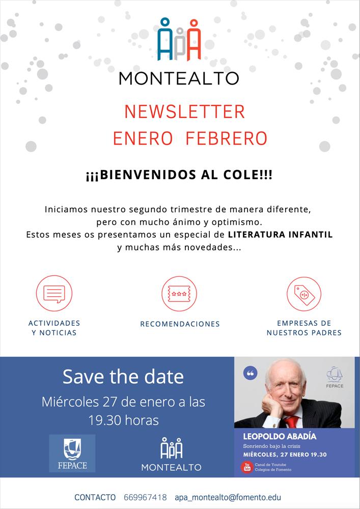 Boletín de enero-febrero de 2021