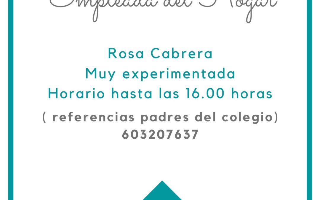 Rosa Cabrera