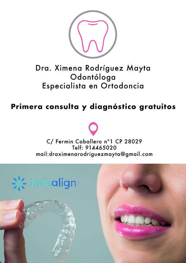 Dra Ximena Rodríguez – Odontóloga